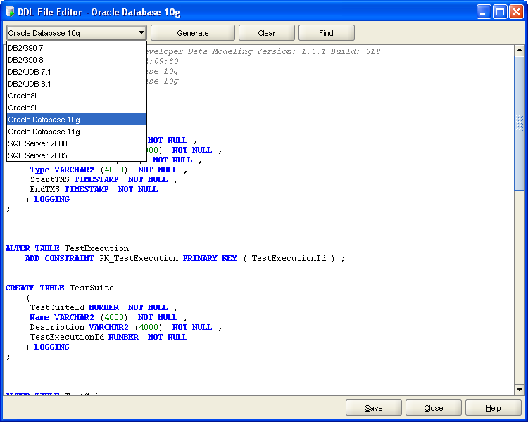 Finally a good tool for Data Modeling: Oracle SqlDeveloper